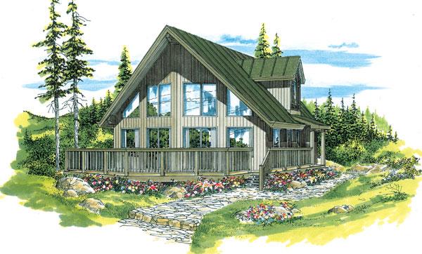 House Plan 55011