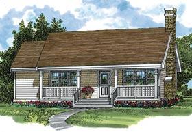 House Plan 55014