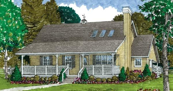 House Plan 55031