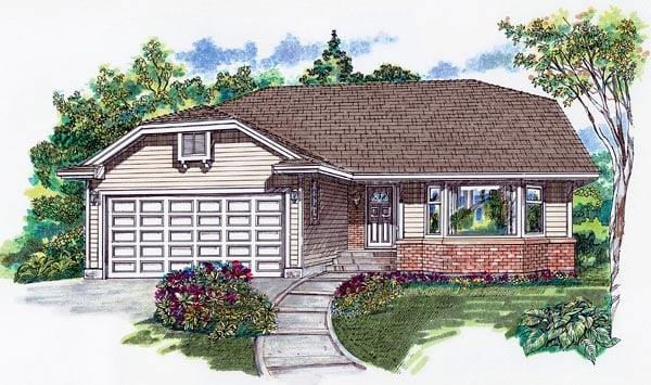 House Plan 55066