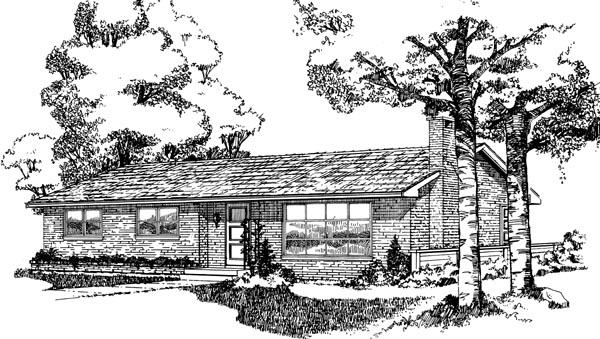 House Plan 55411