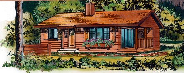 House Plan 55495