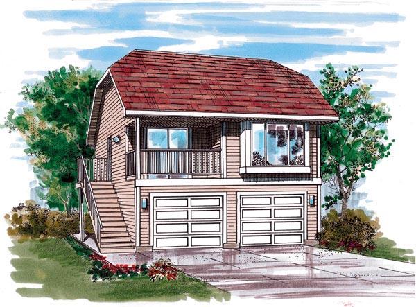 Garage Plan 55543