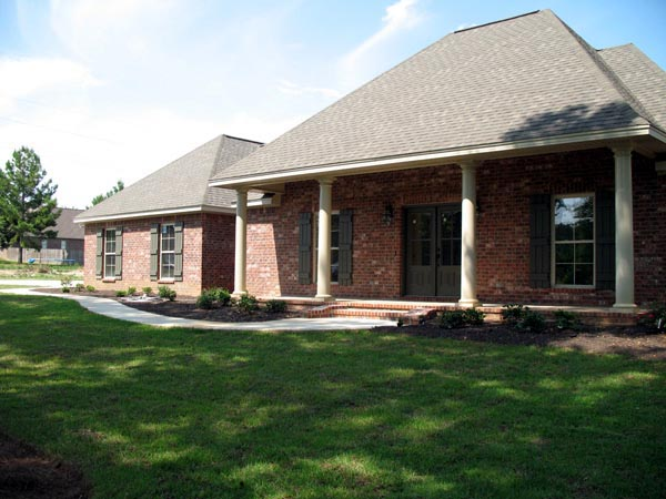 Country, Farmhouse, Southern, Traditional House Plan 55602 with 3 Beds, 2 Baths, 2 Car Garage Picture 8