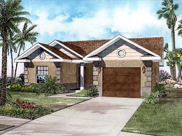 House Plan 55707