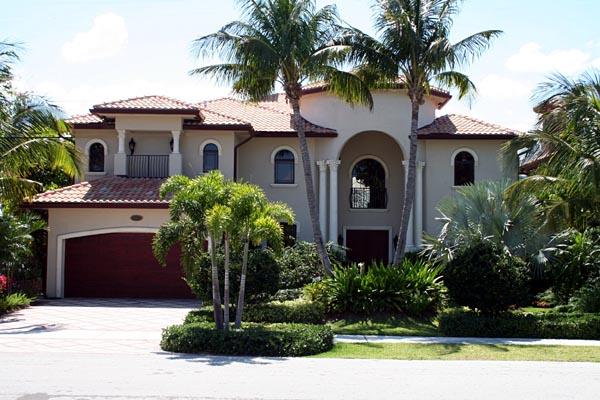 Mediterranean House Plan 55779 with 6 Beds, 7 Baths, 2 Car Garage Picture 5