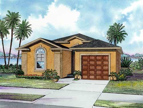 House Plan 55810