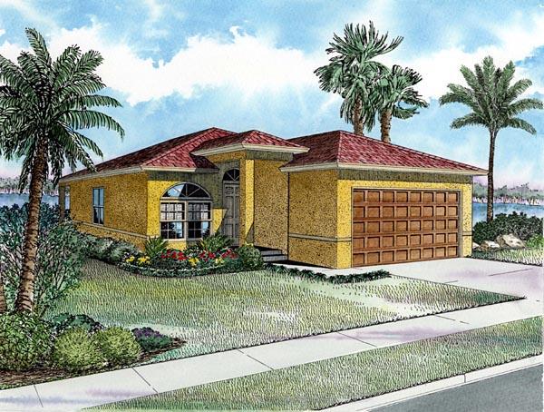 House Plan 55811