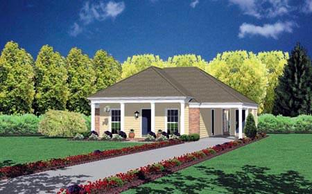 House Plan 56007