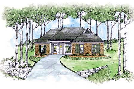 House Plan 56070