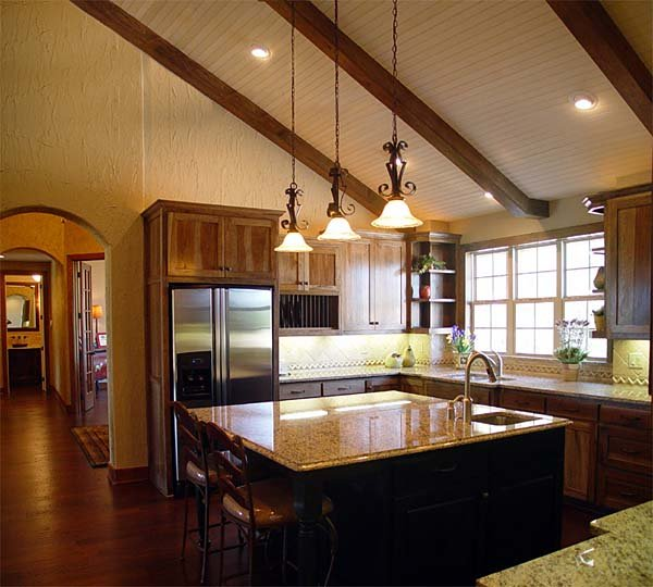European, Traditional House Plan 56543 with 3 Beds, 2 Baths, 3 Car Garage Picture 10