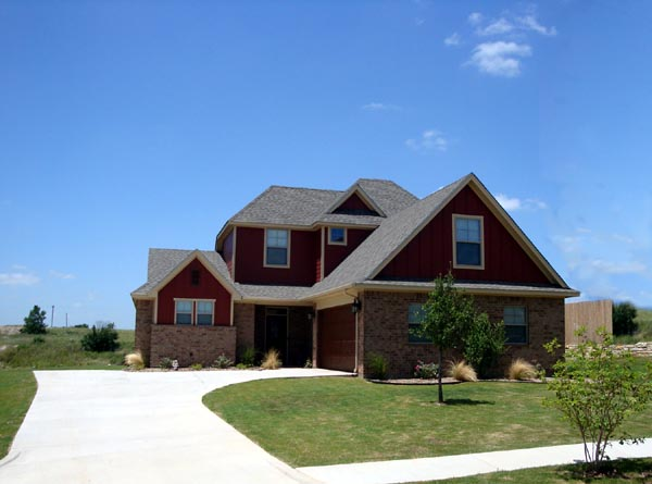 Traditional House Plan 56560 with 3 Beds, 2 Baths, 2 Car Garage Picture 1