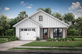 Plan Number 56702 - 1292 Square Feet