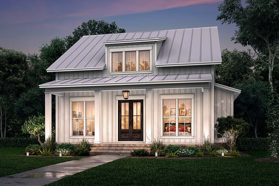 Cottage, Country, Farmhouse House Plan 56721 with 2 Beds, 2 Baths Picture 4