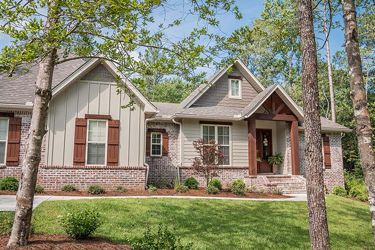 Country, Craftsman, Traditional House Plan 56903 with 3 Beds, 2 Baths, 2 Car Garage Picture 3