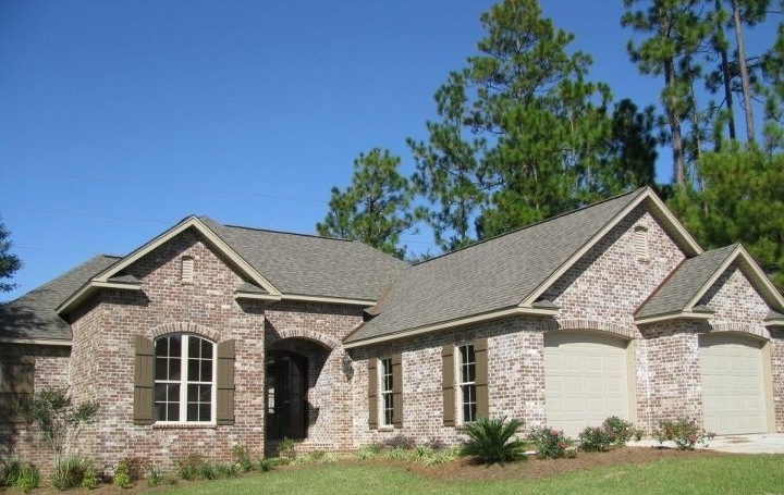 Country, French Country House Plan 56904 with 3 Beds, 3 Baths, 2 Car Garage Picture 1