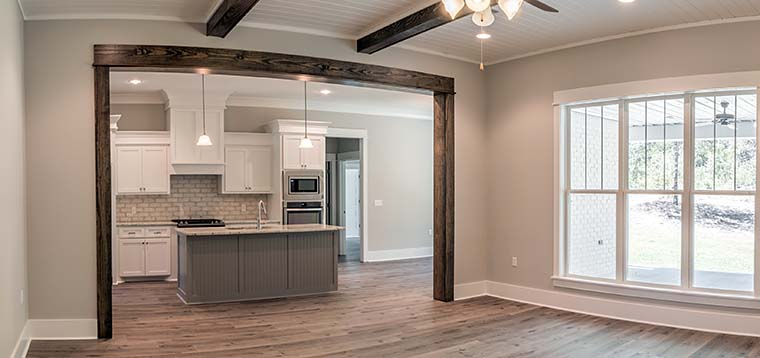 Country, Craftsman, Southern, Traditional House Plan 56911 with 3 Beds, 2 Baths, 2 Car Garage Picture 7