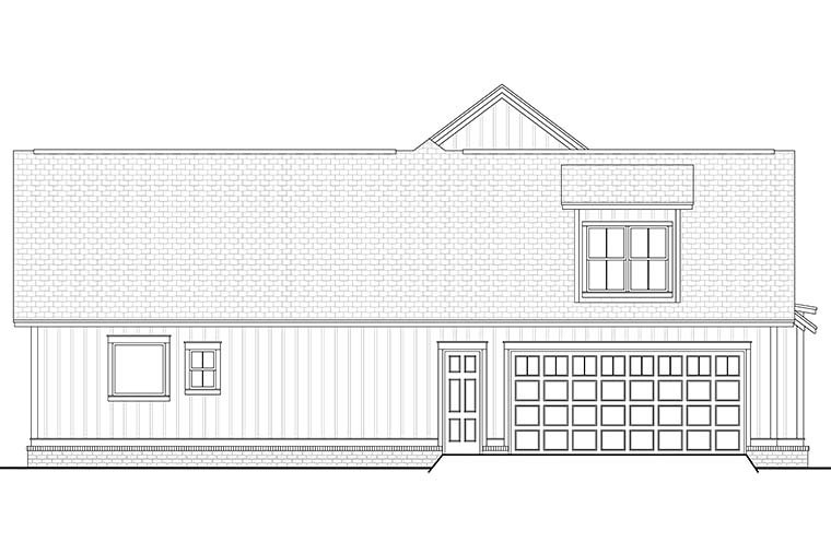 Country, Craftsman, Farmhouse House Plan 56912 with 3 Beds, 2 Baths, 2 Car Garage Picture 2