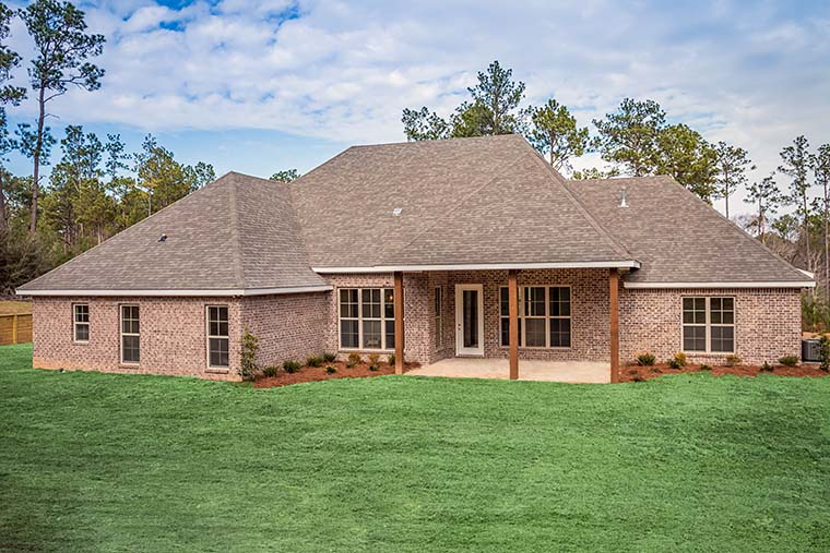Country, Craftsman, Traditional House Plan 56924 with 4 Beds, 3 Baths, 2 Car Garage Picture 4