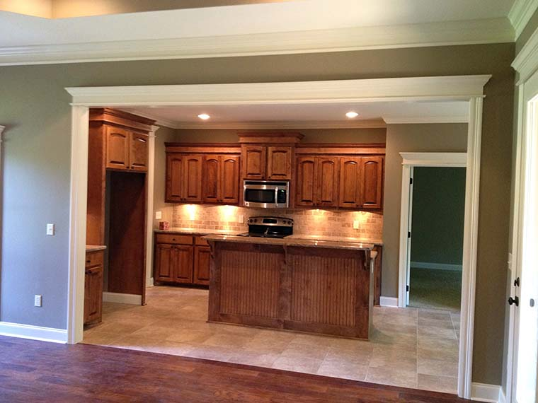 Country, European, French Country House Plan 56957 with 3 Beds, 2 Baths, 2 Car Garage Picture 1