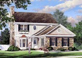 Plan Number 57067 - 2266 Square Feet