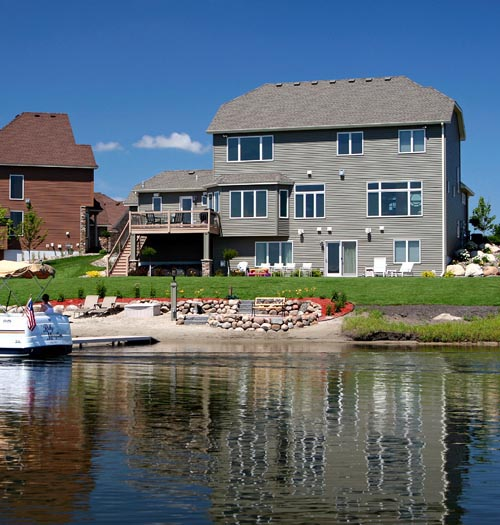 Cottage, Craftsman House Plan 57555 with 4 Beds, 3 Baths, 3 Car Garage Rear Elevation