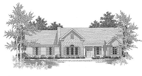 House Plan 58035