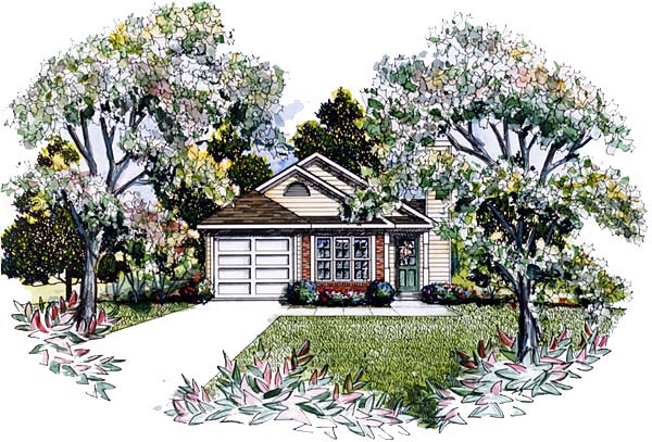 House Plan 58168