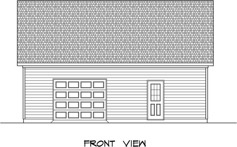 Garage Plan 58241