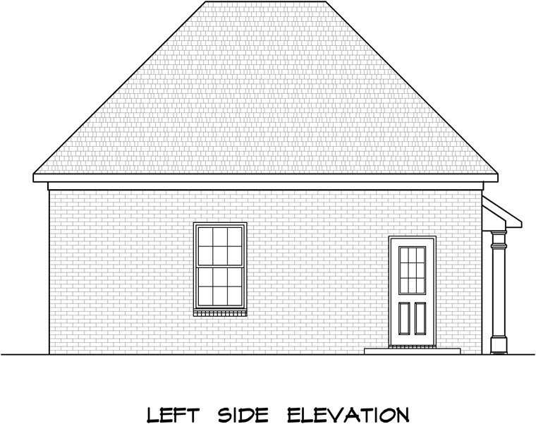 3 Car Garage Plan 58245 Picture 1