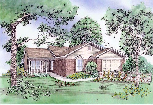 House Plan 58400