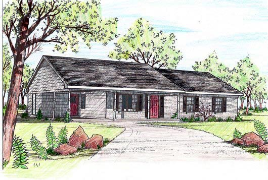House Plan 58422