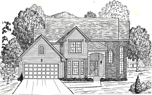 House Plan 58461