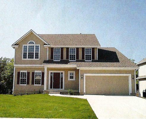 House Plan 58484 with 5 Beds, 3 Baths, 2 Car Garage Picture 1