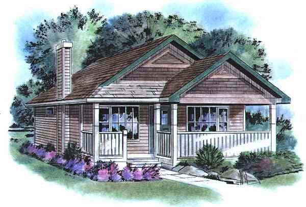House Plan 58509