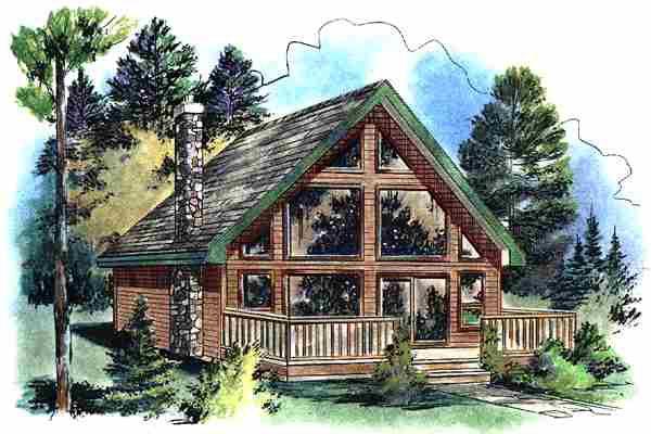 House Plan 58544