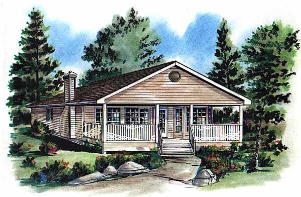 House Plan 58704