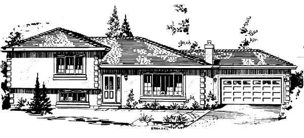 Farmhouse House Plan 58862 with 3 Beds, 2 Baths, 2 Car Garage Elevation