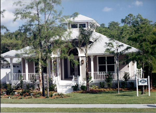 Florida House Plan 58903 with 3 Beds, 2 Baths Picture 1
