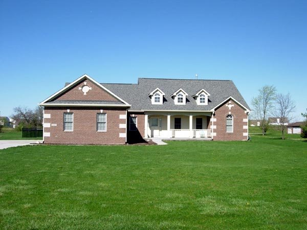 European, Ranch, Traditional House Plan 59011 with 3 Beds, 2 Baths, 2 Car Garage Picture 6