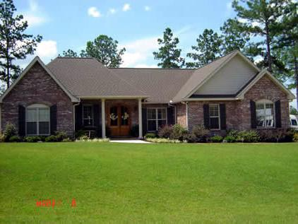 European, Ranch, Traditional House Plan 59087 with 3 Beds, 3 Baths, 3 Car Garage Picture 2
