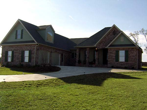Country, European, Traditional House Plan 59215 with 4 Beds, 3 Baths, 2 Car Garage Picture 4