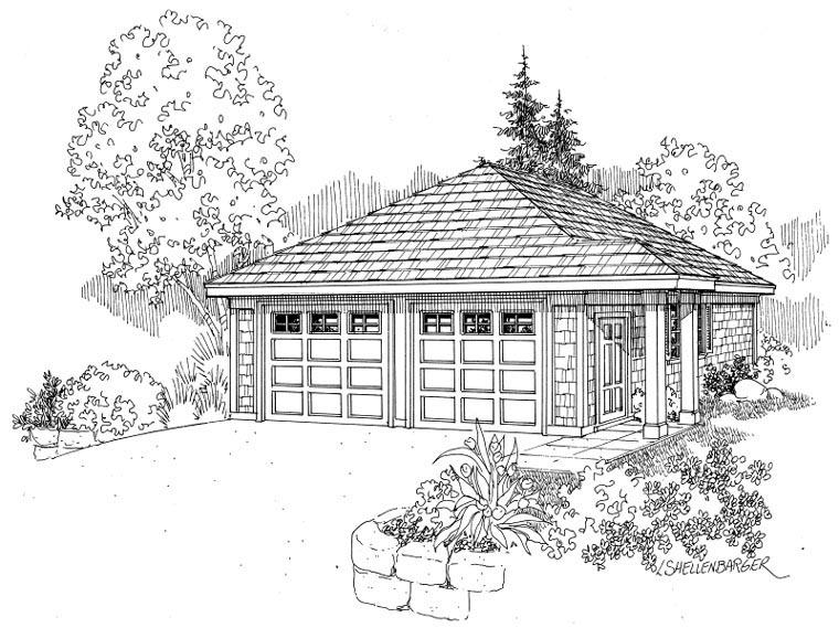 Garage Plan 59445