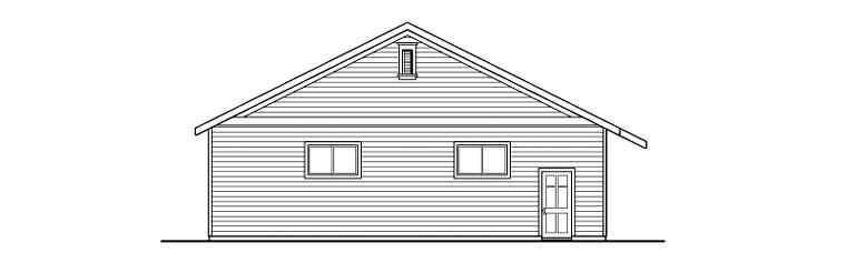 Traditional 8 Car Garage Plan 59459 Picture 1