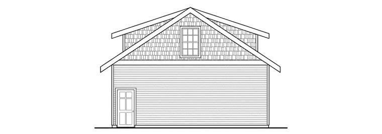 Craftsman 2 Car Garage Apartment Plan 59469 Picture 2
