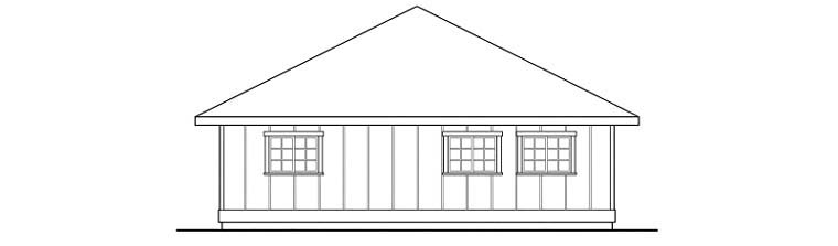 Traditional 3 Car Garage Plan 59470 Picture 1