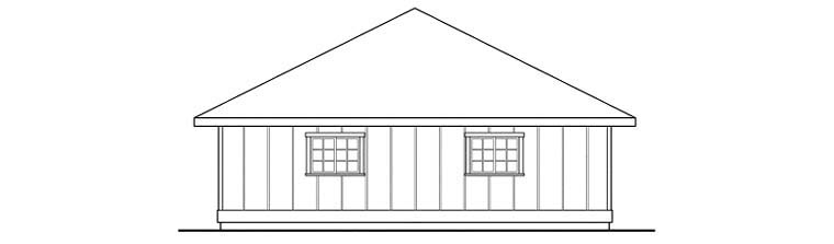 Traditional 3 Car Garage Plan 59470 Picture 2