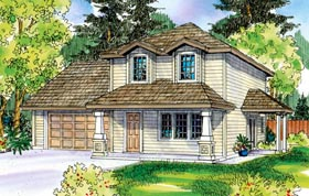 Plan Number 59718 - 1598 Square Feet