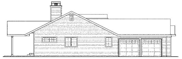Cottage, Country, Florida, Ranch House Plan 59749 with 4 Beds, 3 Baths, 2 Car Garage Picture 1