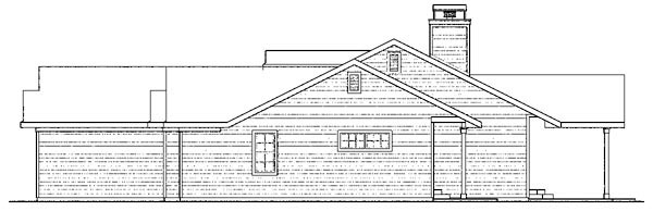 Cottage, Country, Florida, Ranch House Plan 59749 with 4 Beds, 3 Baths, 2 Car Garage Picture 2